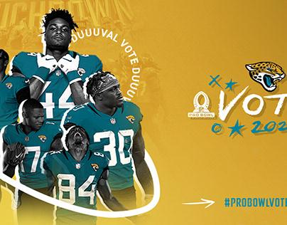 Jacksonville Jaguars 2020 ProBowl Push