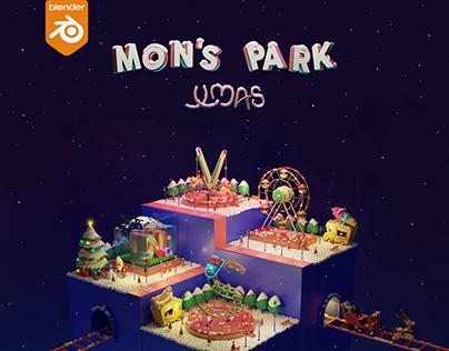 36 Days of Playground Christmas Type - 2021