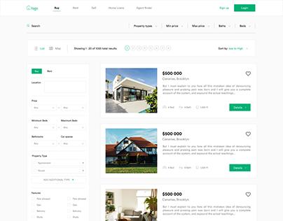 Property Search Page