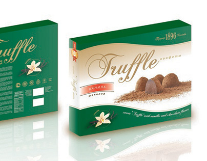 Candy packaging ''New Collection'' and ''Truffle''
