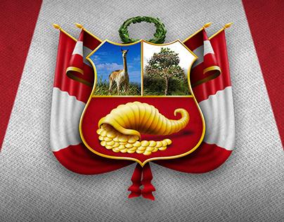 Escudo Nacional del Perú - Realistic Version
