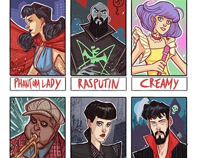 6 Characters Challenge