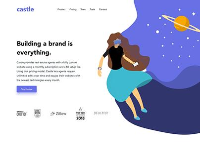 Castle Lab - Redesign