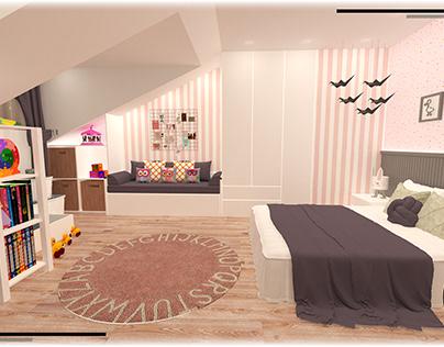 Dekorasyon & Düzen ''Çocuk Odası Tasarımı''