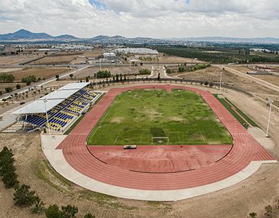 Estadio olímpico y de futbol de Cuauhtémoc