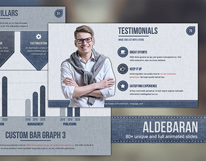 Aldebaran - Free PowerPoint Template