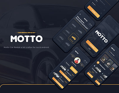 Motto Car Rental UI Kit