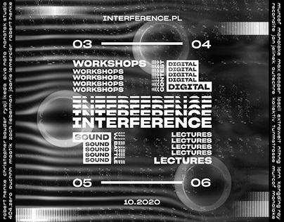 INTERFERENCE – Visual Identity Redesign