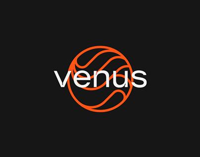 Venus Podcast - Logotipo & Identidade Visual [REDESIGN]