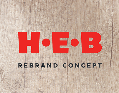 H-E-B Rebrand Concept