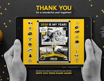 HERTZ | Holiday Card - UI UX Design [para M8 Agency]