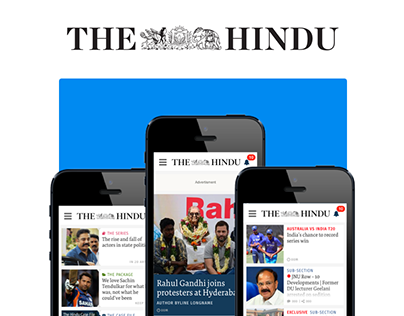 The Hindu :: Responsive Website Design