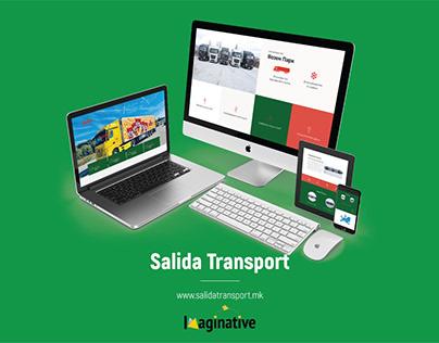 Web Design & Development – Salidatransport.mk | IA