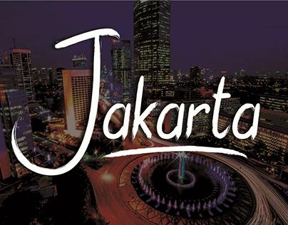 Jakarta Font Brush