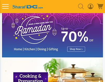 Ramadan Landing Page 2019