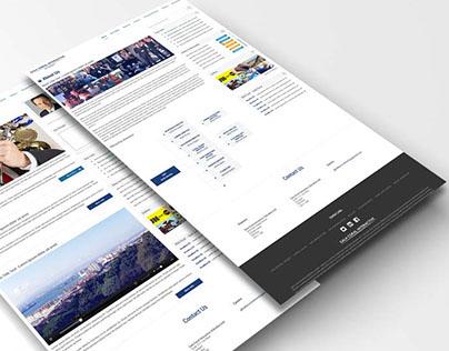 Gala Coral Interactive -  Intranet design