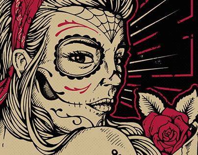 Pretty Lady - Underbase originals Nº15 Illustration