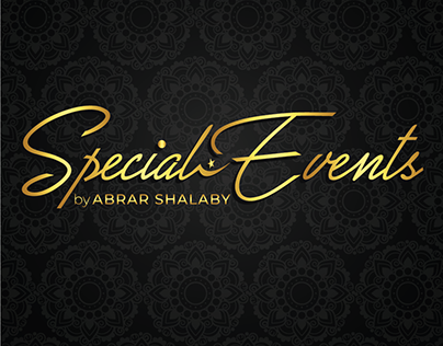 Logo Designing for an Event organizing company.