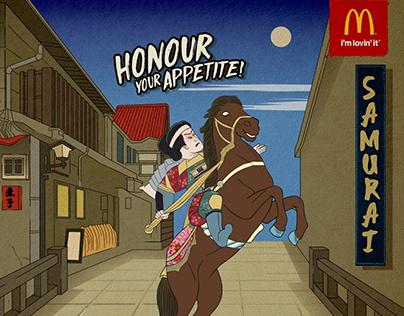 McDonald's Samurai Burger Pitch