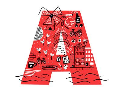 ABC City Doodle Maps