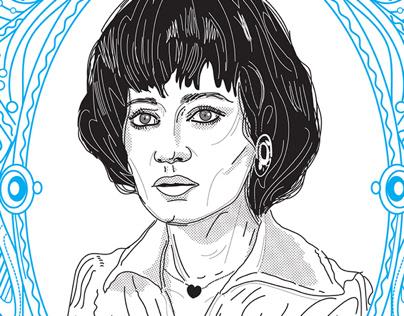 tribute to Egyptian actress Madiha Kamel