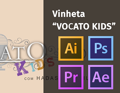"Vinheta ""VOCATO KIDS"" (Animation with Motion Graphics)"