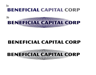 Beneficial Capital Logo options