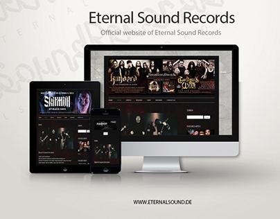 Eternal Sound Records website design & development