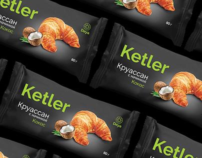 Ketler. Packaging for croissant