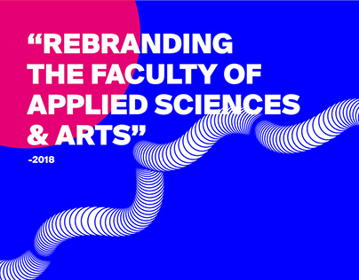 Rebranding The Faculty of Applied Sciences & Arts