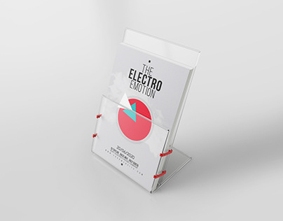 ELECTRON SHAPE FLYER TEMPLATE