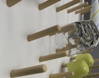 HANGER  glass dryer