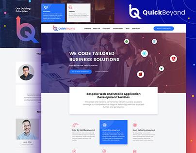 Quickbeyond Technology Website