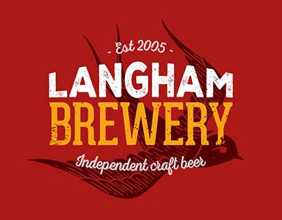 Langham Brewery Rebrand