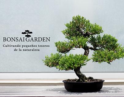 Diseñando la marca de Bonsai Garden
