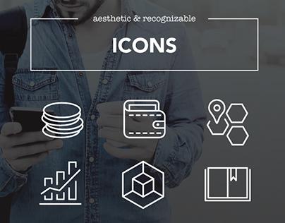 Comptel // Icon Design