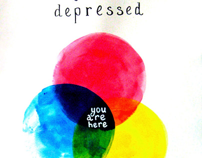 A Guide for Depressed and other postcards