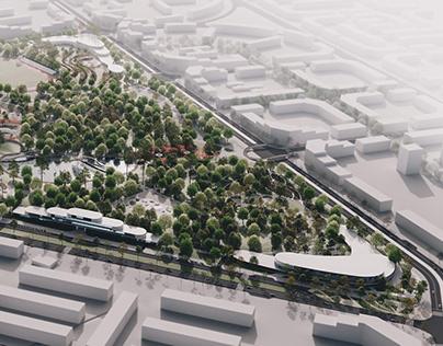 microdistrict concept in Odessa
