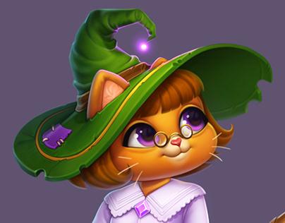 Witch teacher