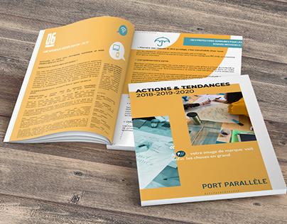 Rapport d'activité 2018 Port Parallèle, juillet 2019.