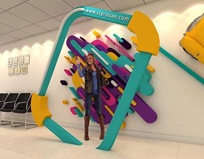 STYRO Creative Office Display