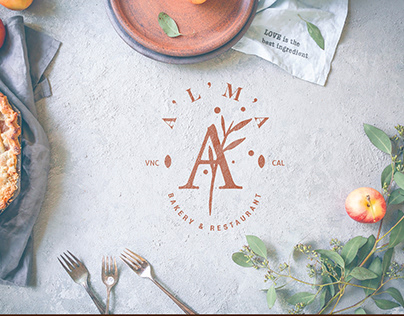 Alma bakery branding