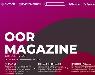 OOR Magazine unofficial rebranding