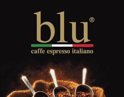 Print Design BLU CAFÉ Int