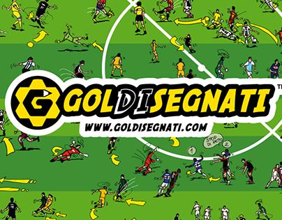 GOLDISEGNATI | Ideazione Logo e Illustrazioni