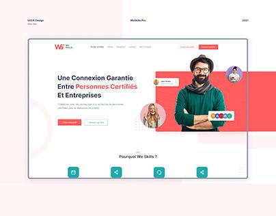 WeSkills   Website for Certified candidates