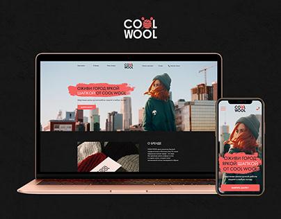 COOL WOOL Hat Brand   Landing Page