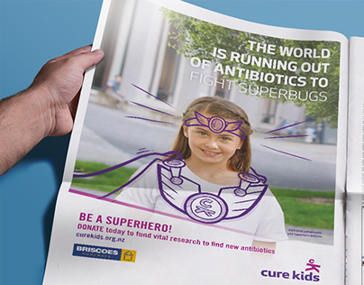 Cure Kids NZ - Antibiotics campaign