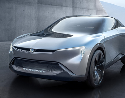 Buick Electra Electric Crossover Concept Car