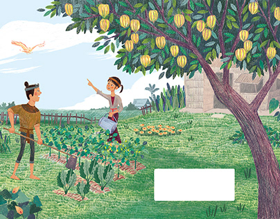 The carambola garden of Phoenix | Picture book
